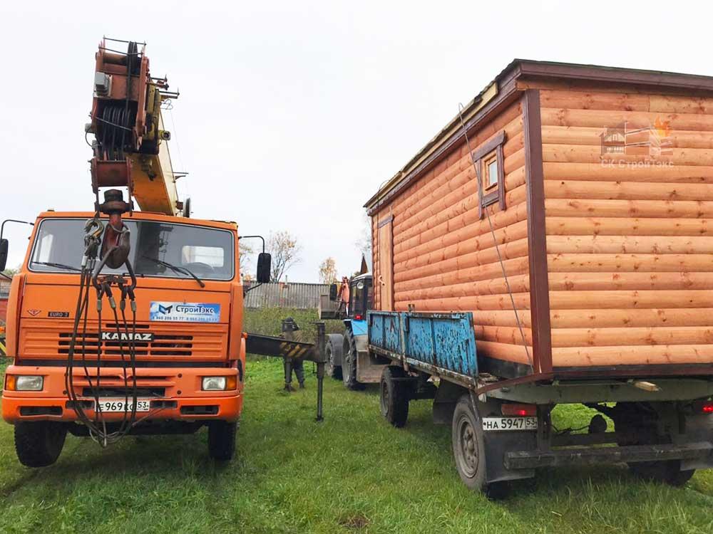готовые перевозные бани ленинградская область