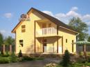 Каркасный дом - 7х9м. Проект дома Д-23. Площадь - 111м2