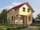 Проект дома Д-15. Размеры - 6х7 м. Площадь - 72 м2