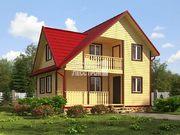 Проект дома Д-51. Размеры - 12х13 м, Площадь - 156 м2