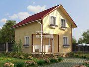 Каркасный дом - 8х8м. Проект дома Д-52. Площадь - 165 м2