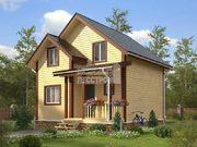Проект дома Д-50. Размеры - 7х8м, Площадь - 112 м2
