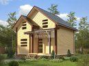 Дом из бруса - 6х8м. Проект дома Д-52. Площадь - 91,5м2