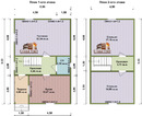 Проект дома Д-39. Размеры - 6х9м. Площадь - 90м2