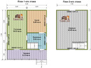 Проект дома Д-40. Размеры - 6х7,5м. Площадь - 63м2