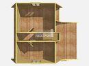 Каркасный дом - 7х8м. Проект дома Д-41. Площадь - 83.5м2