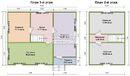 Каркасный дом - 7х9м. Проект дома Д-42. Площадь - 91.5м2
