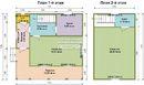 Проект дома Д-44. Размеры - 7.5х7.5 м, Площадь - 69 м2