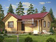 Каркасный дом - 7х10м. Проект дома Д-54. Площадь - 70 м2