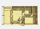 Каркасный дом - 11х6м. Проект дома Д-56. Площадь - 66 м2