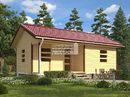 Каркасный дом - 6х9м. Проект дома Д-57. Площадь - 54 м2