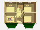 Каркасный дом - 7х9м. Проект дома Д-58. Площадь - 113 м2