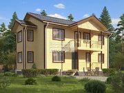 Каркасный дом - 8х12м. Проект дома Д-59. Площадь - 177 м2