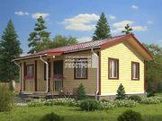Каркасный дом - 7.5х9м. Проект дома Д-60. Площадь - 54 м2