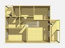 Каркасный дом - 8х11.5м. Проект дома Д-61. Площадь - 86 м2
