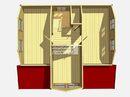 Каркасный дом - 8х9м. Проект дома Д-63. Площадь - 132 м2